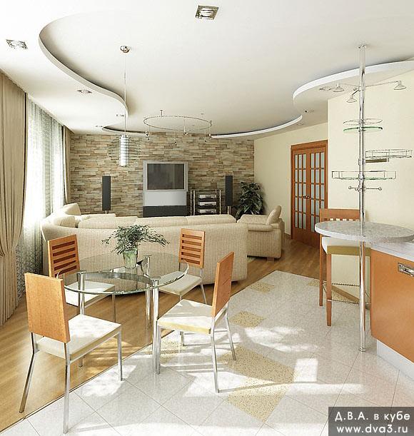 Дизайн квартиры студии великолепные