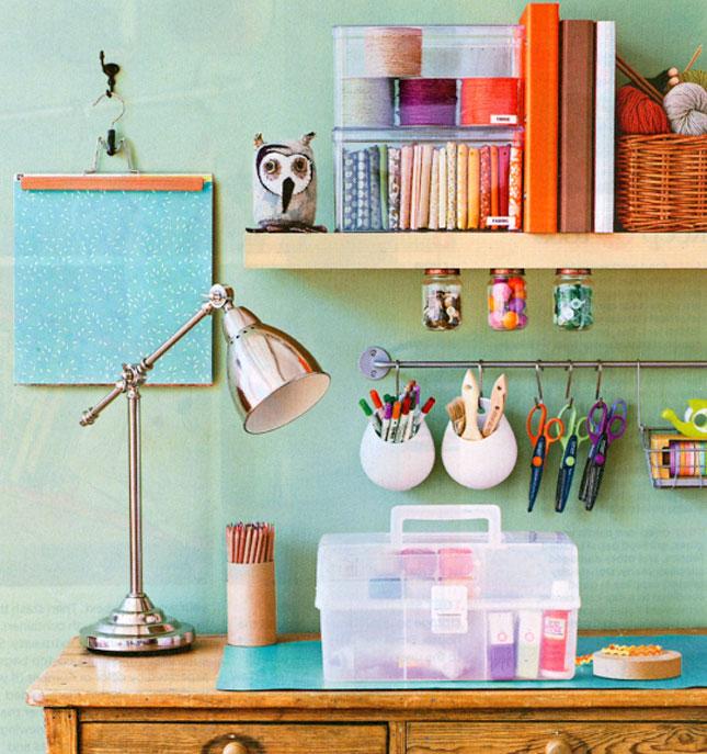 Как организовать рабочее место своими руками