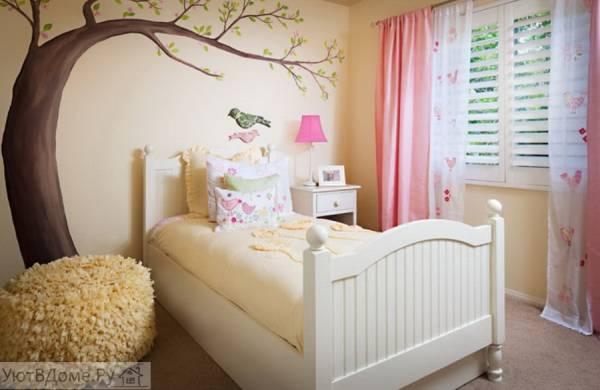 Дизайн игровой комнаты для девочки