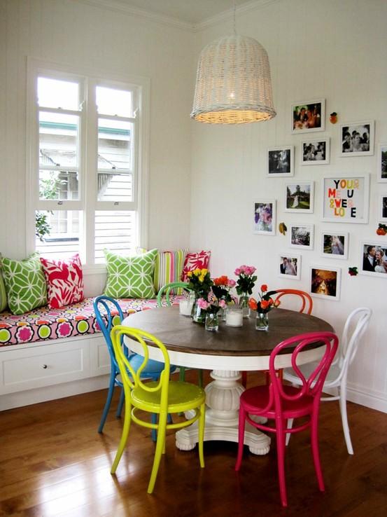 Интерьер как украсить стену на кухне