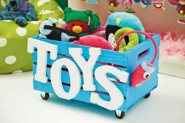 Ящики своими руками под детские игрушки своими руками