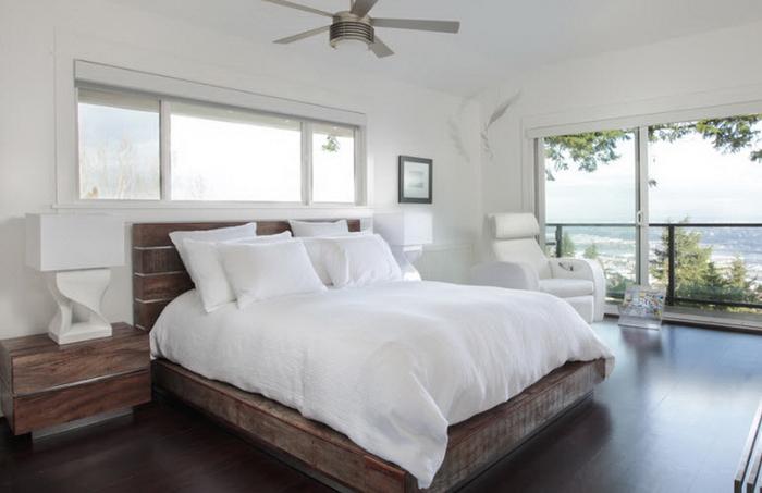 Кровати из массива дерева красивые