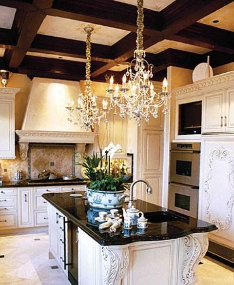 Люстры для кухни