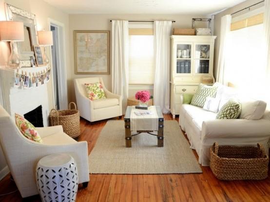 Выбор цвета в интерьере маленькой комнаты