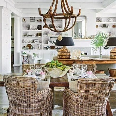Coastal dining rooms