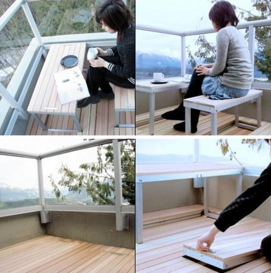 Дизайн гостиная и балкон