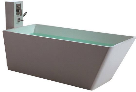 Размеры ванной угловой - 5