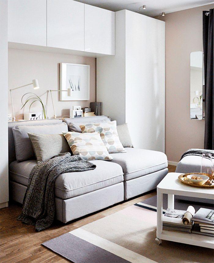 фото спален в квартире с диваном для начала кит