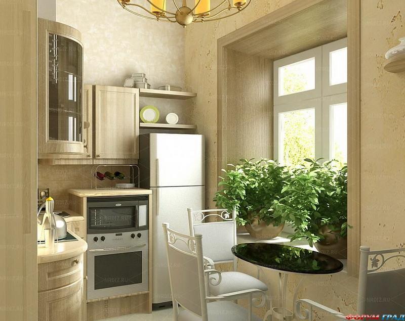 Дизайн проема в кухню
