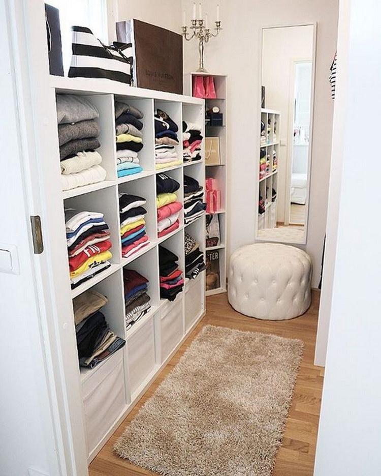 Как в комнате сделать гардеробную фото