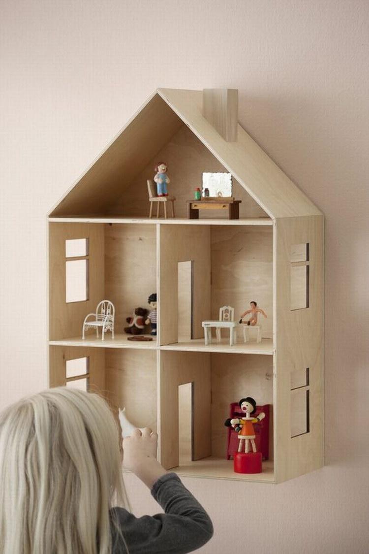 Сделать кукольный домик своими руками с фото 74