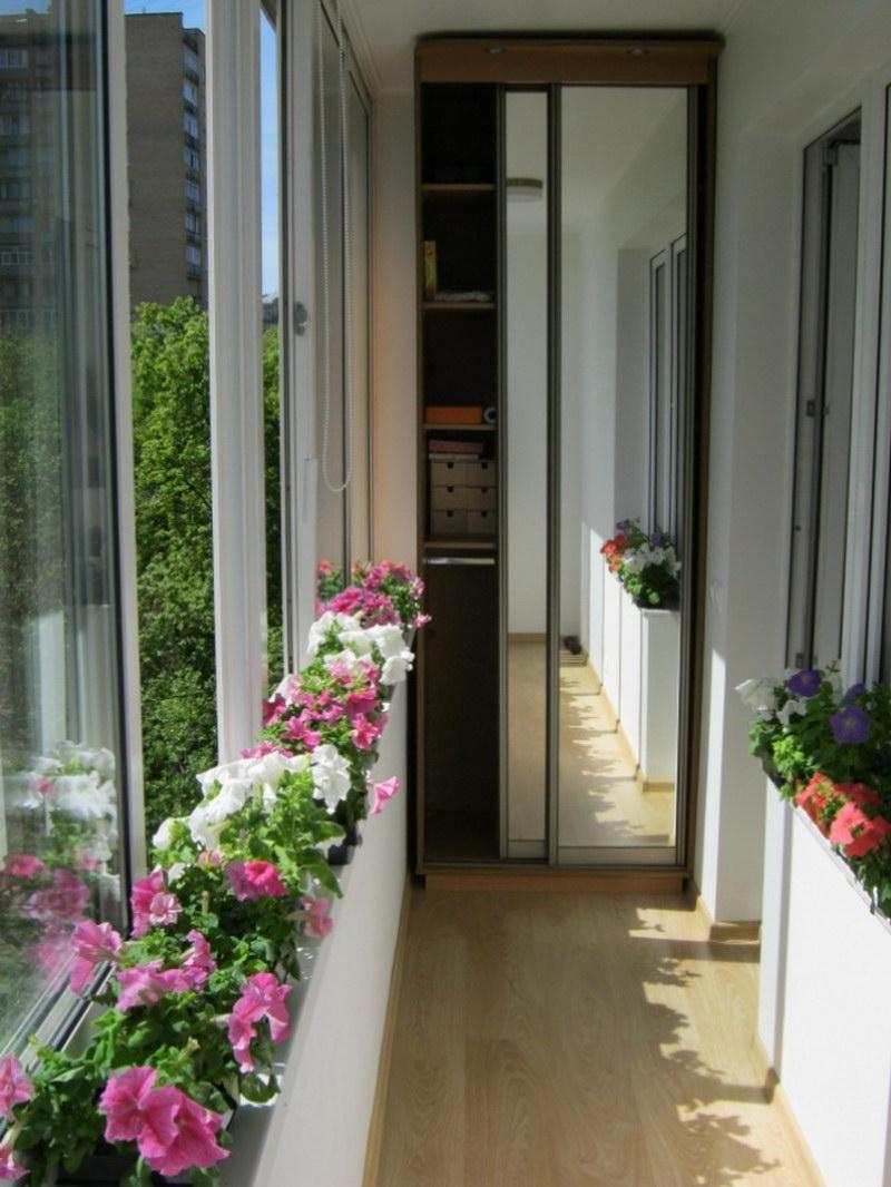 Балконе фото как красиво сделать