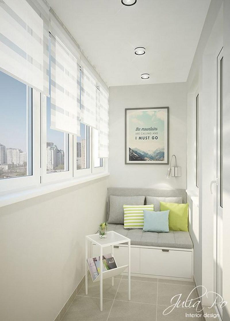 Шкаф на балконе - какие варианты самые подходящие? - фото.