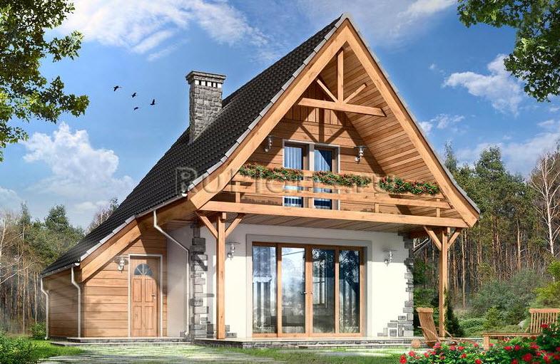 Готический стиль Проекты домов и коттеджей в готическом