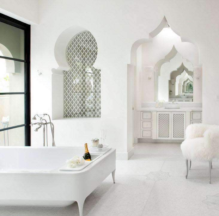 ванная в доме