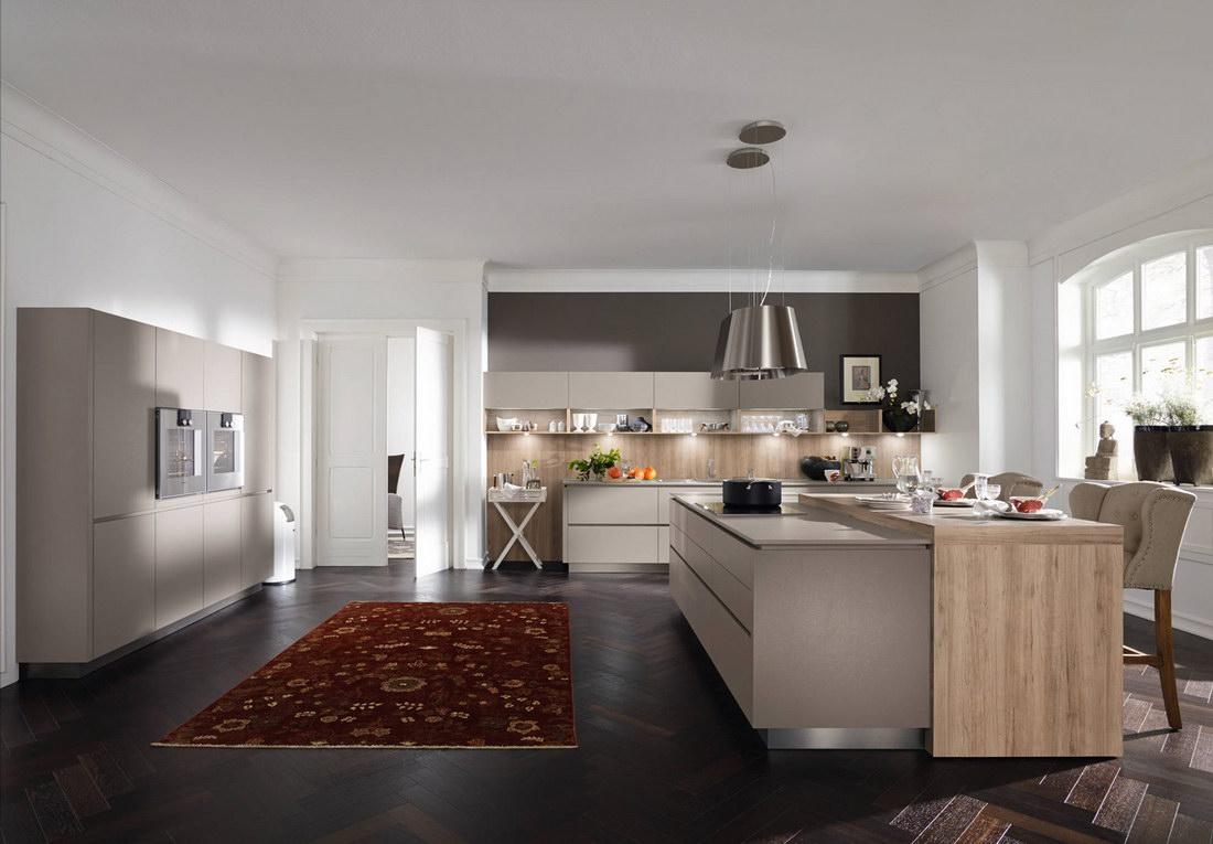 Большая кухня - фото