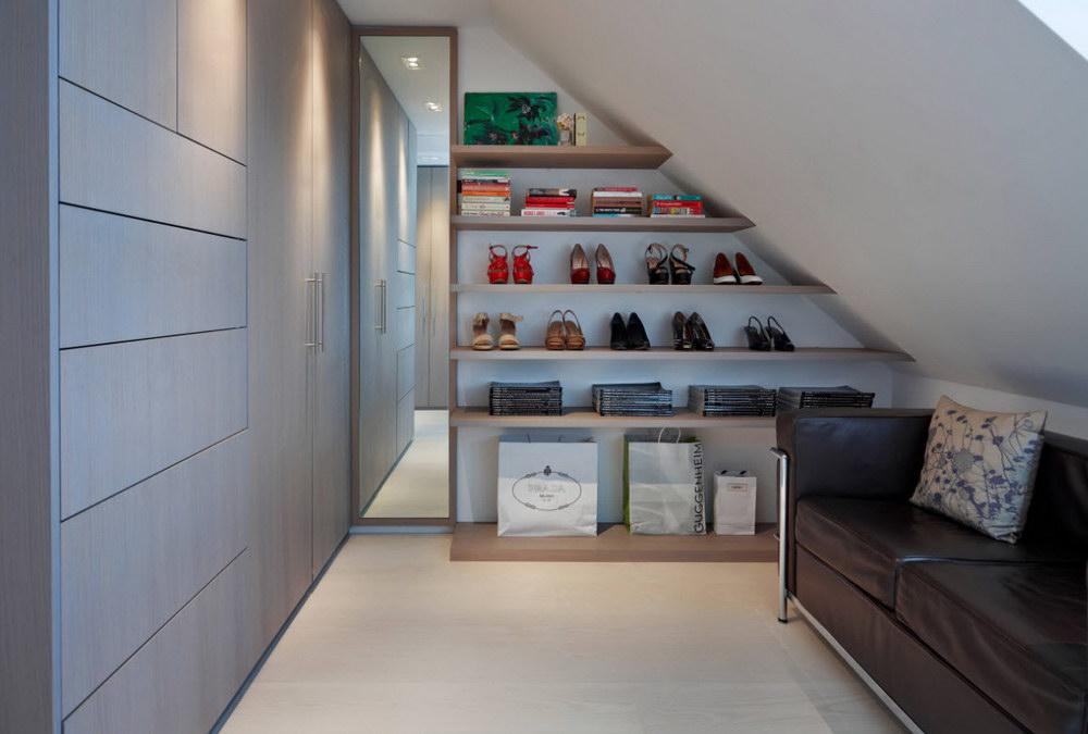 Гардеробные комнаты дизайн
