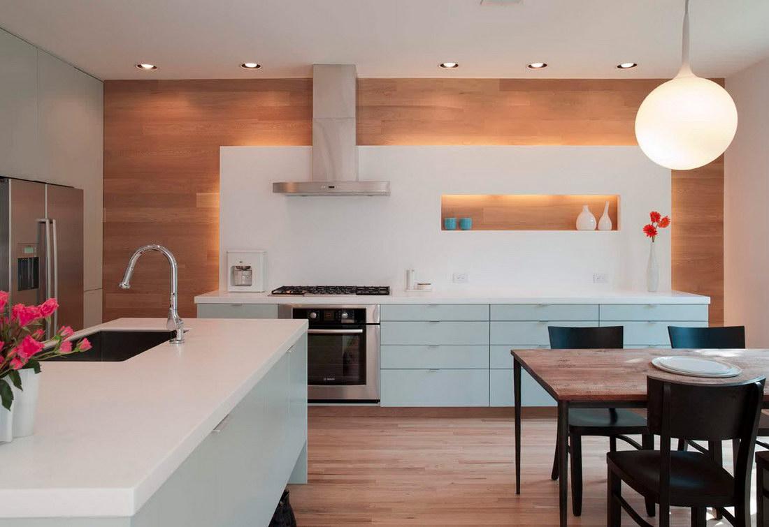 голубая кухня фото