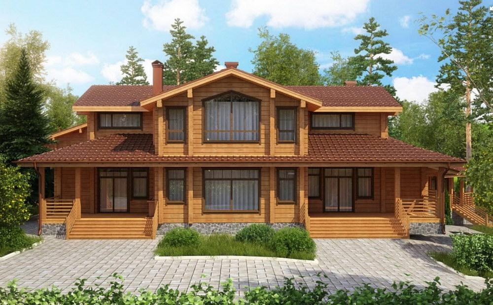красивые деревянные дома проекты и план фото история том