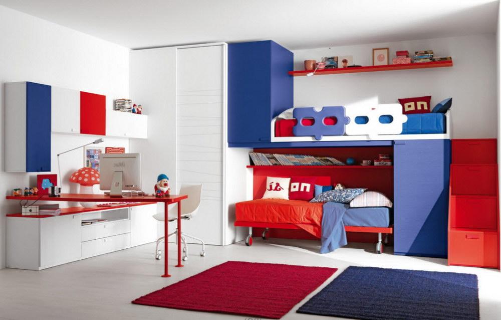 Цветовые схемы для комнаты мальчика-подростка