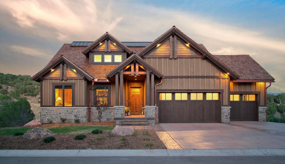 Виды фасадов домов
