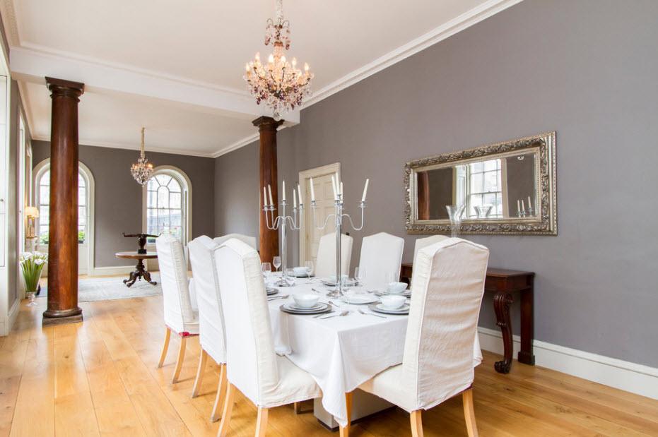Gray dining