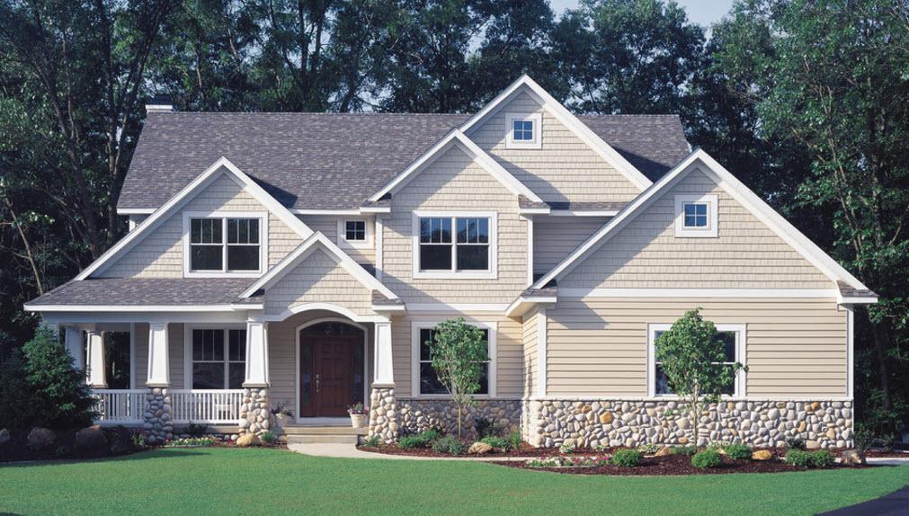 Фото дизайн домов из сайдинга