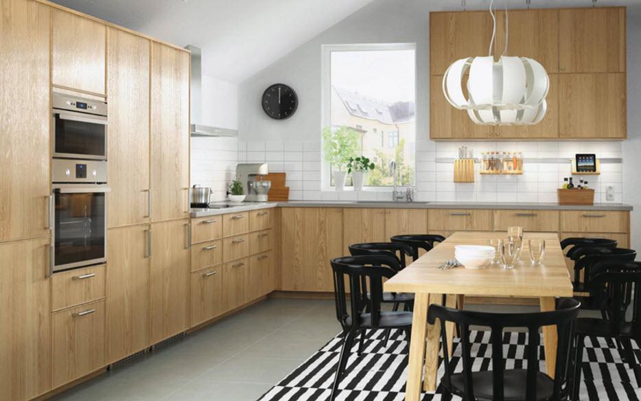 фото кухонь икеа