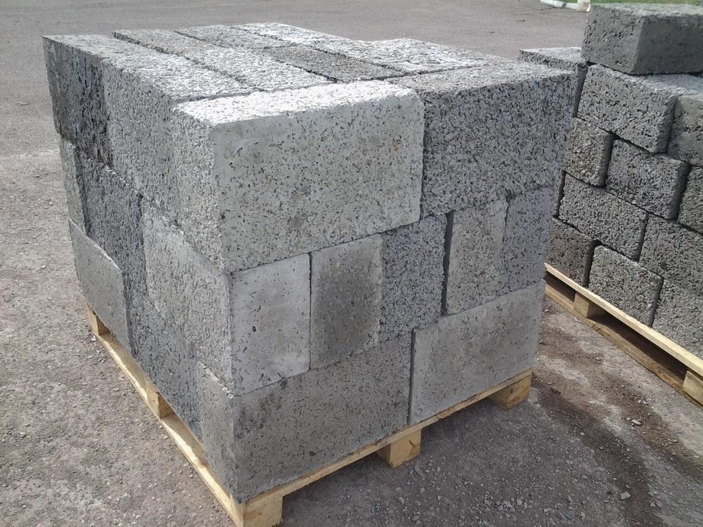 бетонные блоки виды фото
