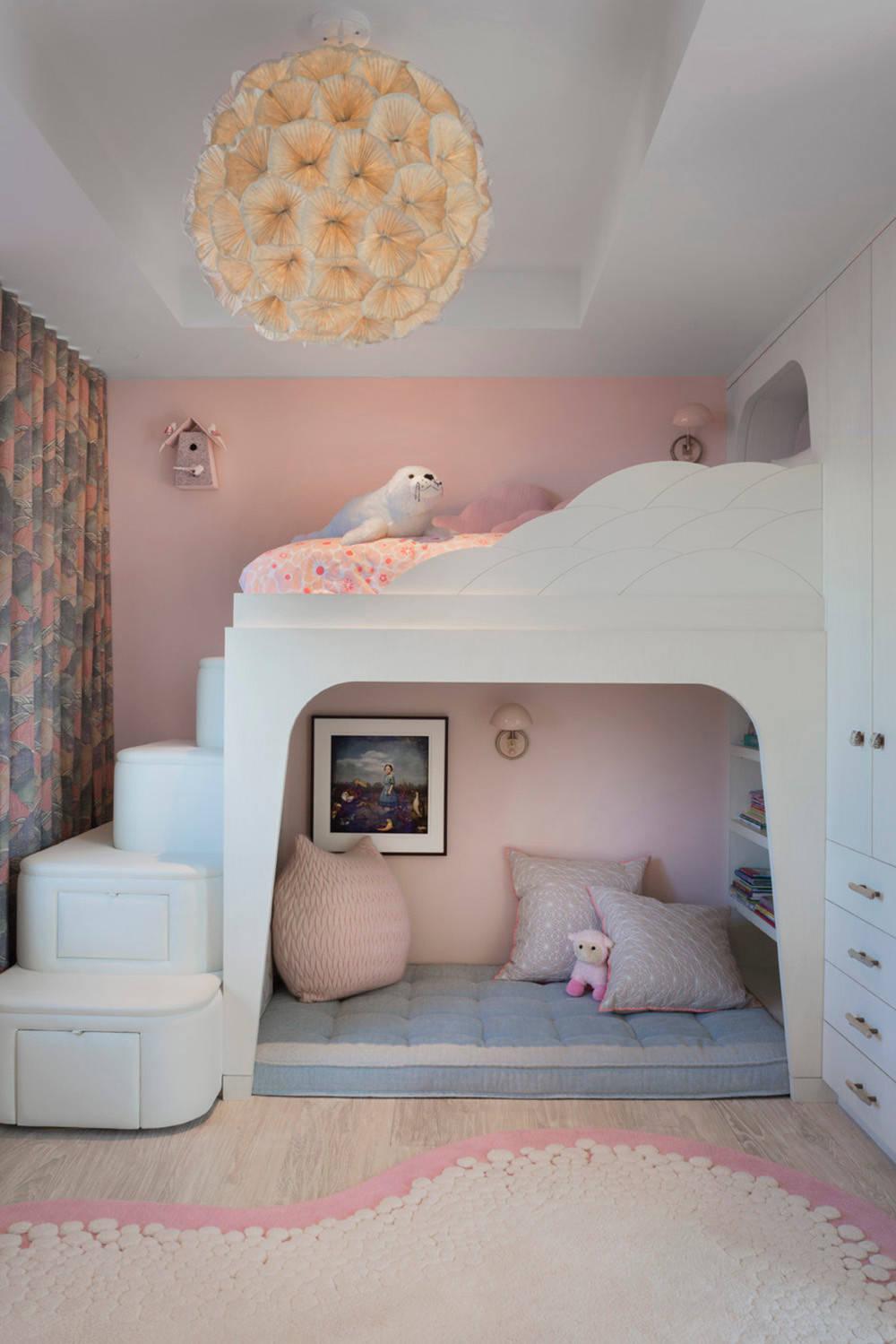 Двухъярусная кровать с диваном внизу недорого