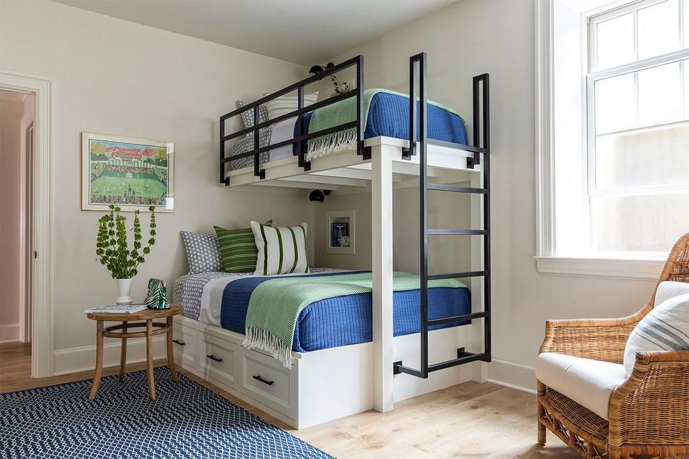 Кровать чердак с кроватью внизу для родителей
