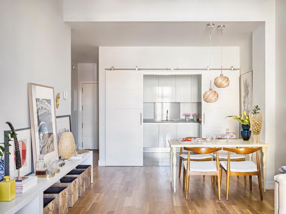 кухни совмещенной с гостиной