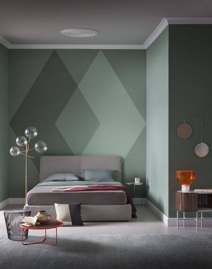 варианты покраски стен в квартире фото эксперименты кинолог