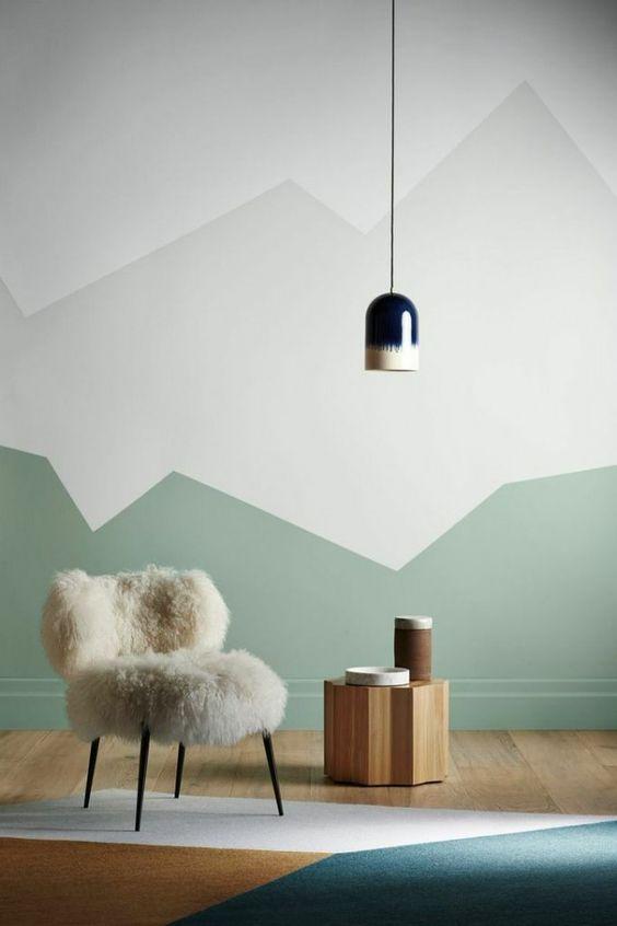 Покраска стен в квартире дизайн фото примеров модные тенденции