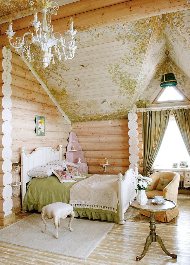Детская в деревянном доме картинки